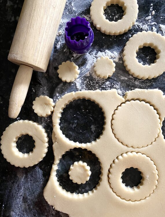 How To Make Wreath Cookies