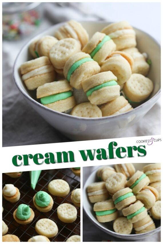 Cream Wafers Cookies Pinterest Image