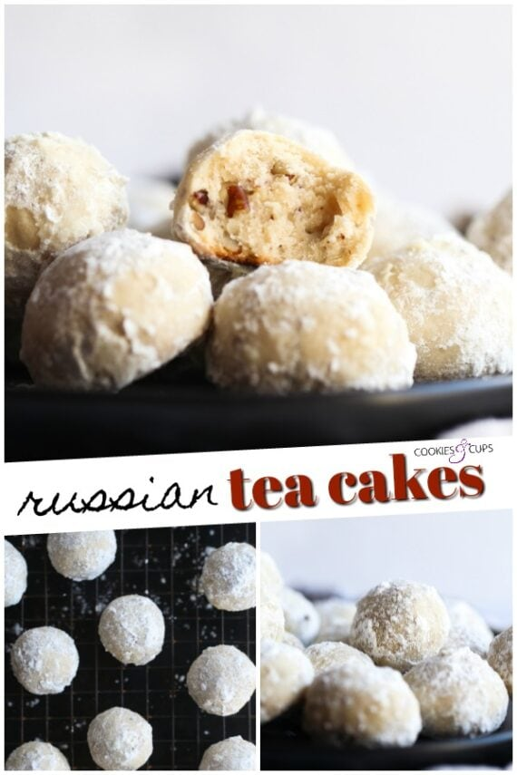 Russian Tea Cakes Pinterest Image