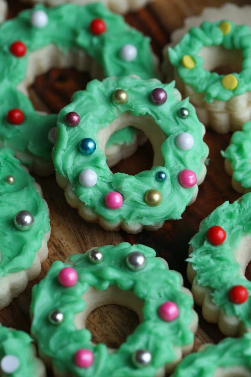 Wreath Cookies