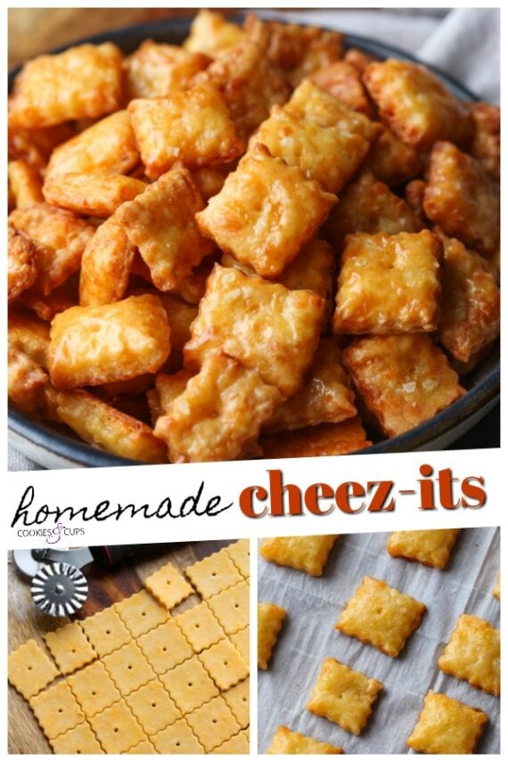 Homemade Cheez Its Pinterest Image