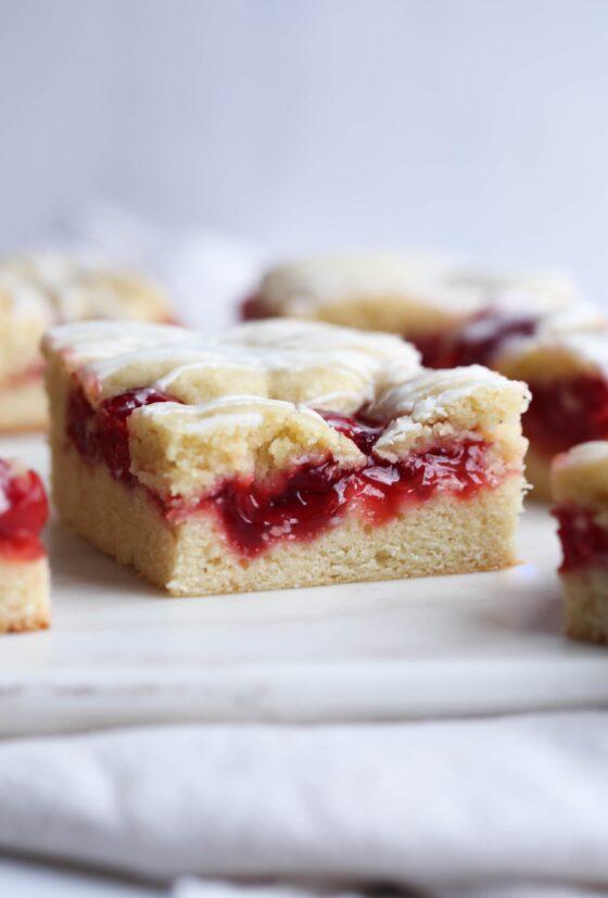 Cherry Cobblestone Cake