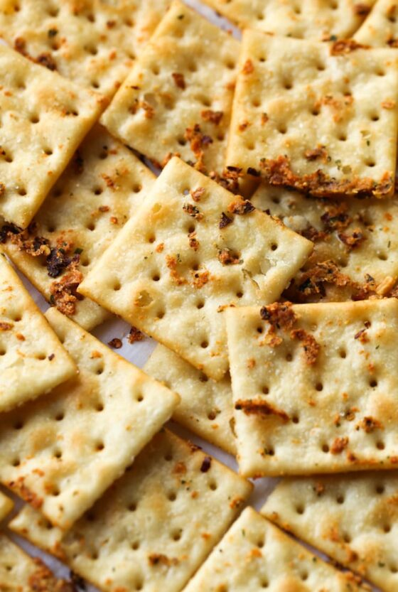 Seasoned Crackers (aka Fire Crackers)