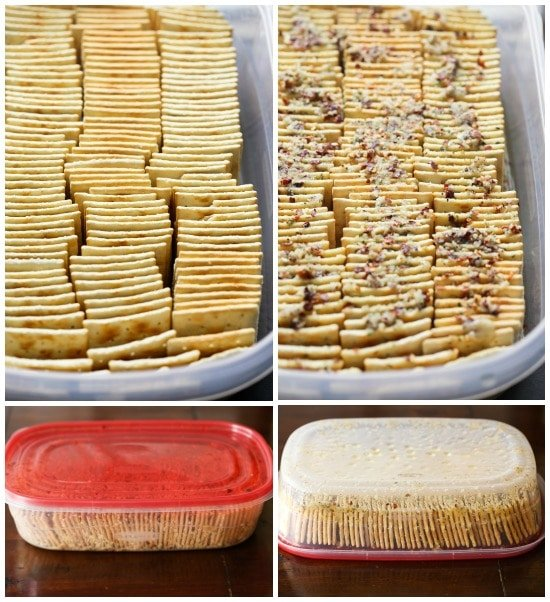 How To Make Seasoned Crackers