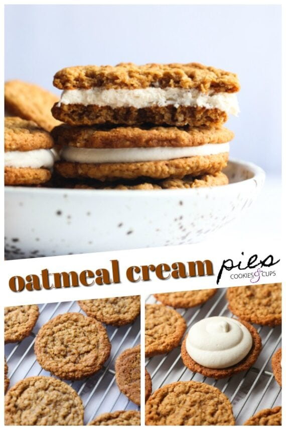 Oatmeal Cream Pies Pinterest Image