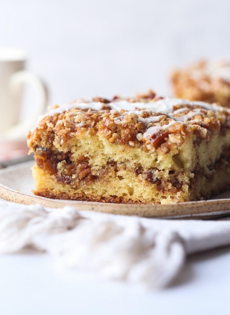 Pecan Sour Cream Coffee Cake Recipe Cookies Cups