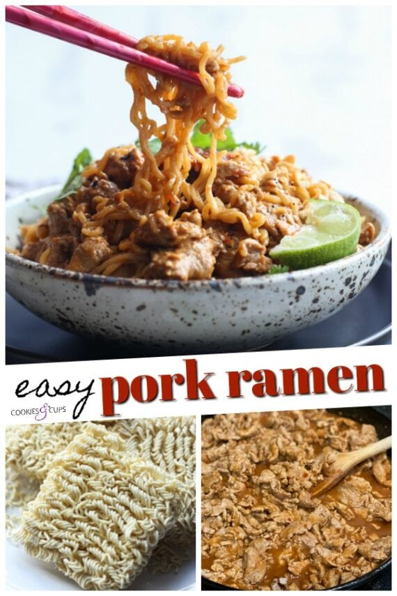 Pork Ramen Noodles Pinterest Image