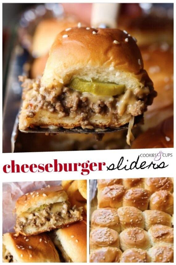 Cheeseburger Sliders Pinterest Image