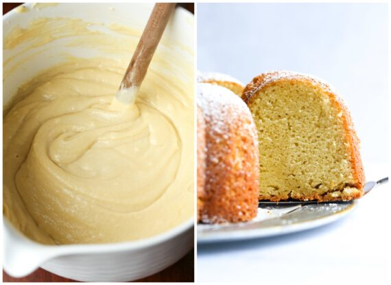 How To Make Sour Cream Cake