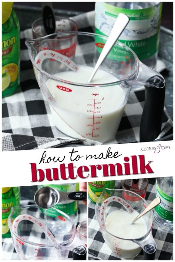 How to Make Buttermilk Pinterest image