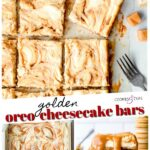 Golden Oreo Cheesecake Pinterest Image