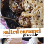 Salted Caramel Pizookie Pinterest Image