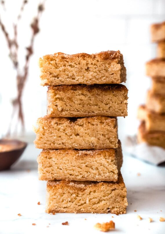 Stack of Snickerdoodle Bars