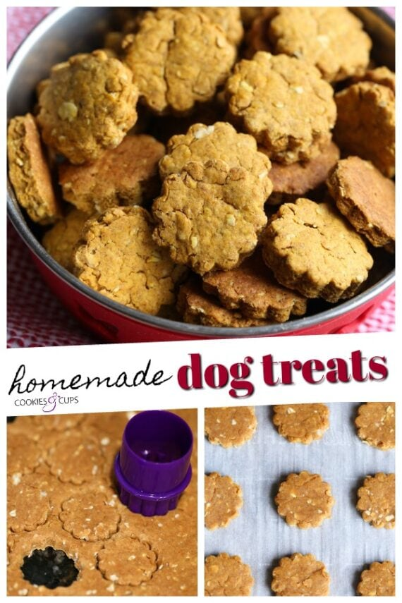 Homemade Dog Cookies Pinterest Image