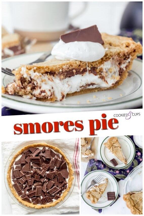 S'mores Pie Pinterest Image