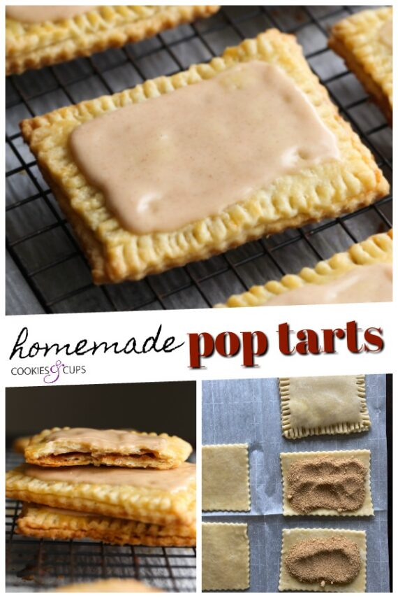 Homemade Pop Tarts Pinterest Image