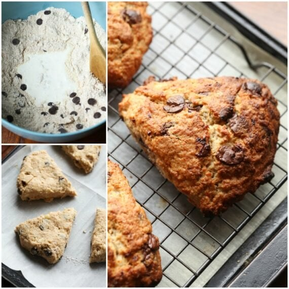 How To Make Scones Collage