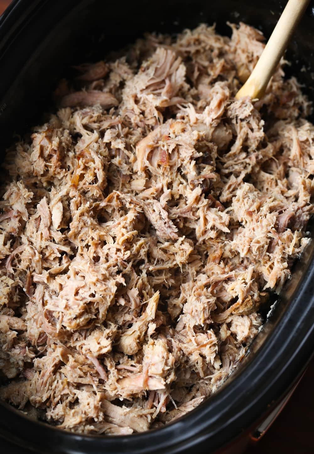 Carne de porco Kalua havaiana | Carne de porco fácil de 3 ingredientes