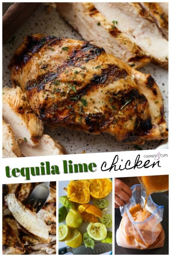 Tequila Lime Chicken Pinterest Image