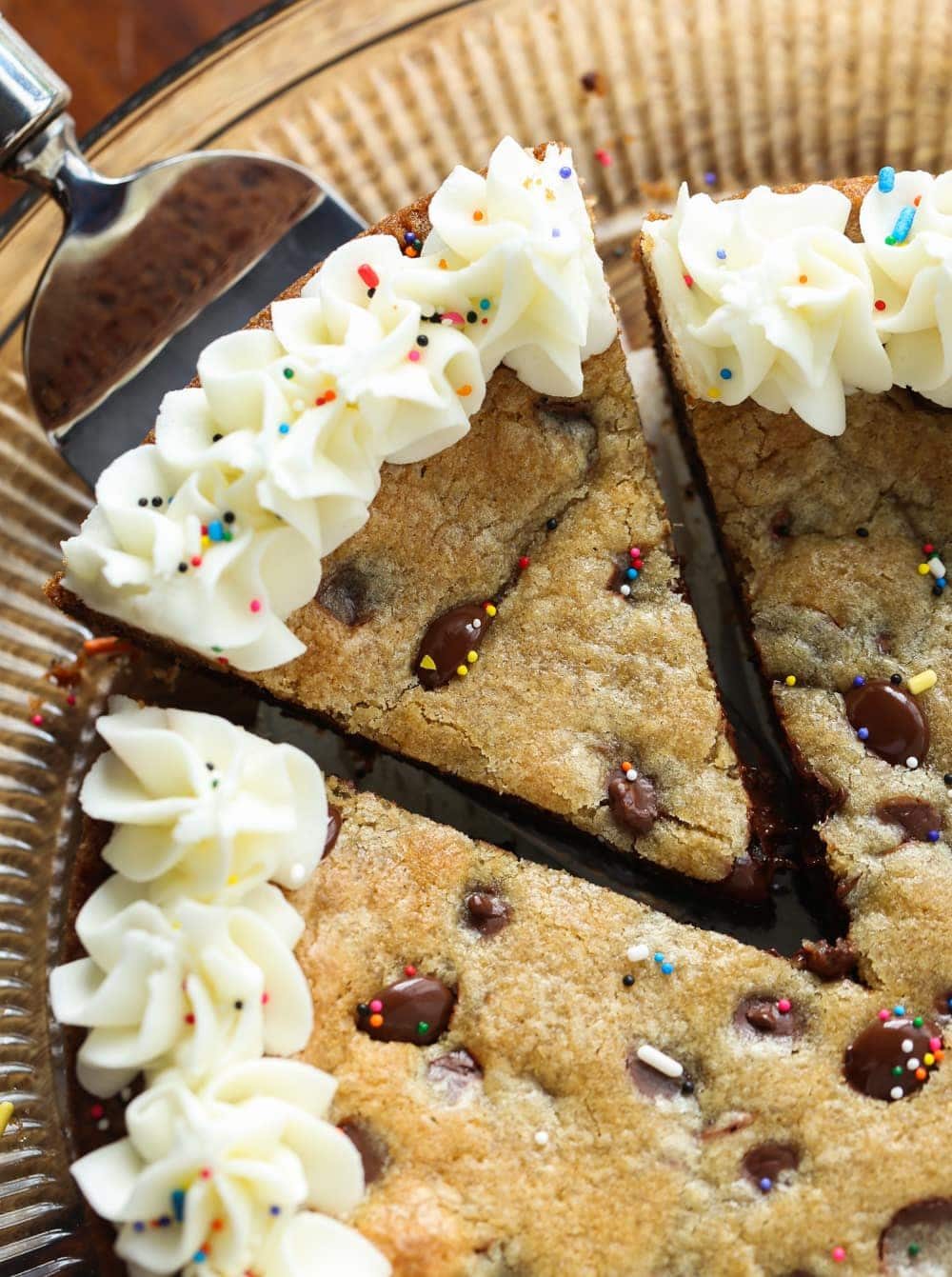 The Best Chocolate Chip Cookie Cake