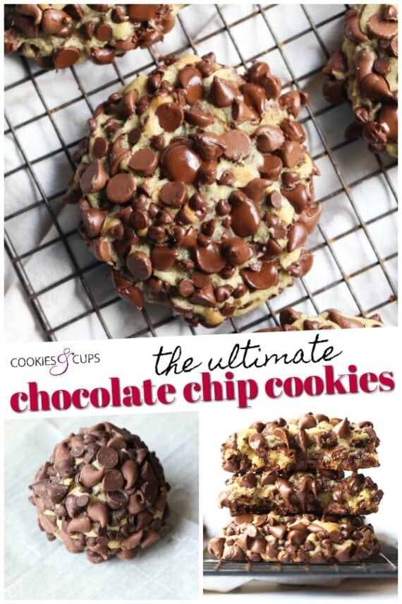 The Ultimate Chocolate Chip Cookie Pinterest Image