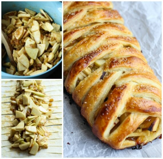Apple Strudel Filling and Final Pastry