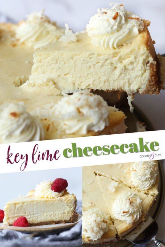 Key Lime Cheesecake Pinterest Image