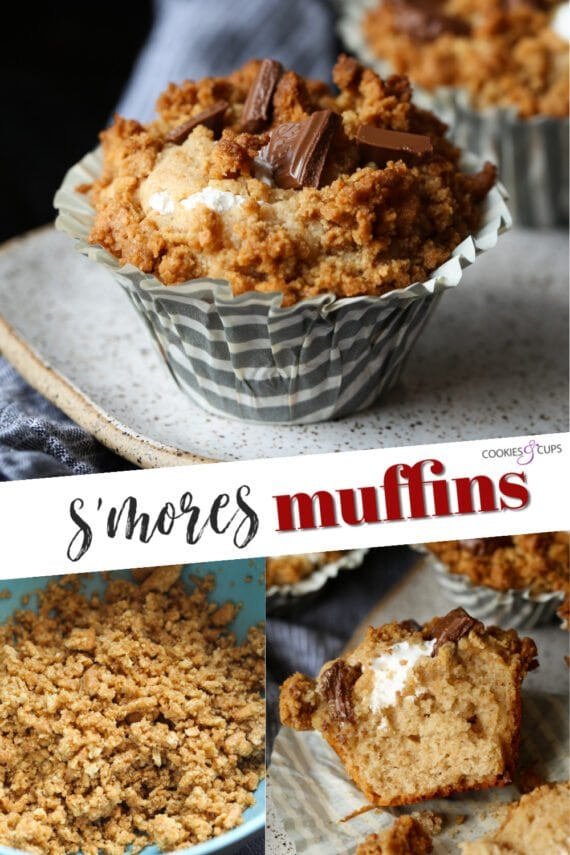 S'mores Muffins Pinterest Image