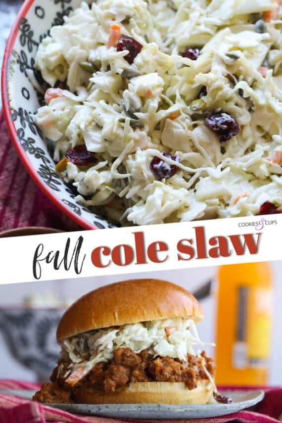 Fall Cole Slaw Pinterest Image