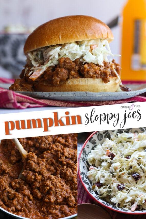 Pumpkin Sloppy Joes Pinterest Image