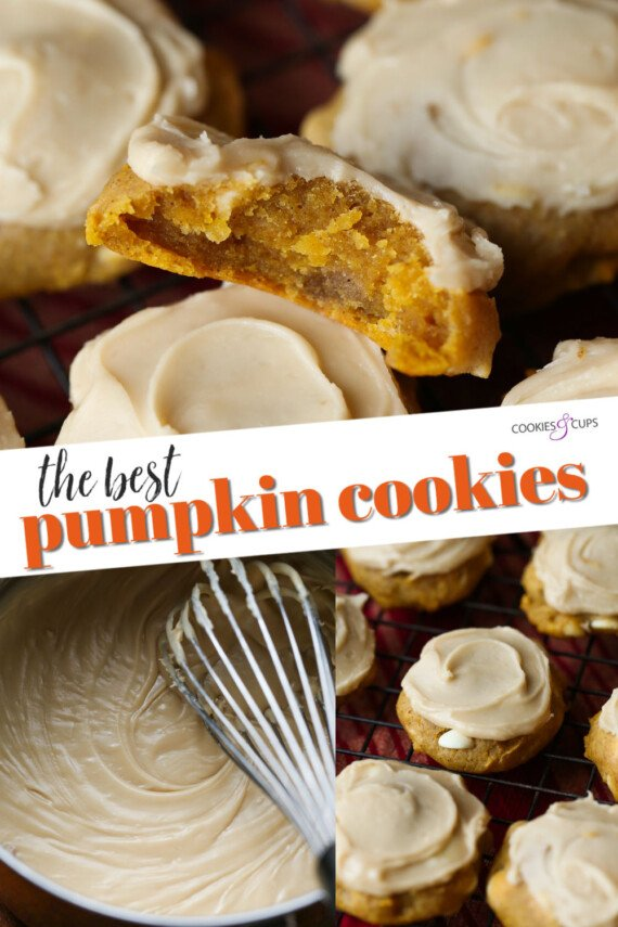 Pumpkin Cookies Pinterest Image
