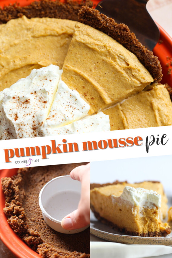 Pumpkin Mousse Pie PInterest Image