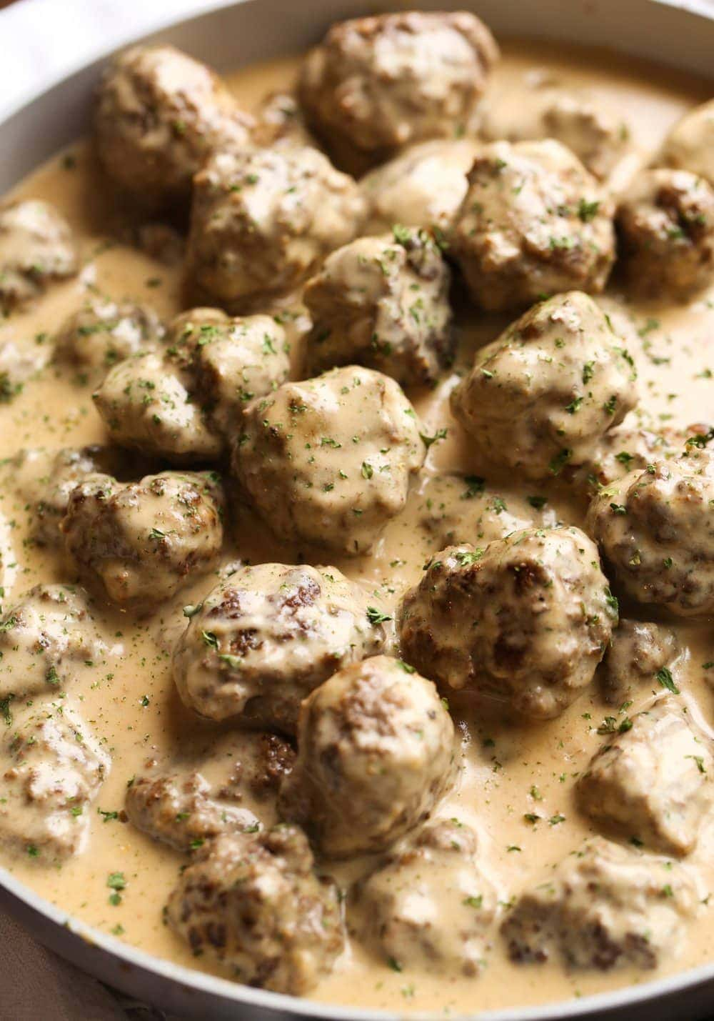 Easy Swedish Meatballs Recipe With Gravy Cookies And Cups