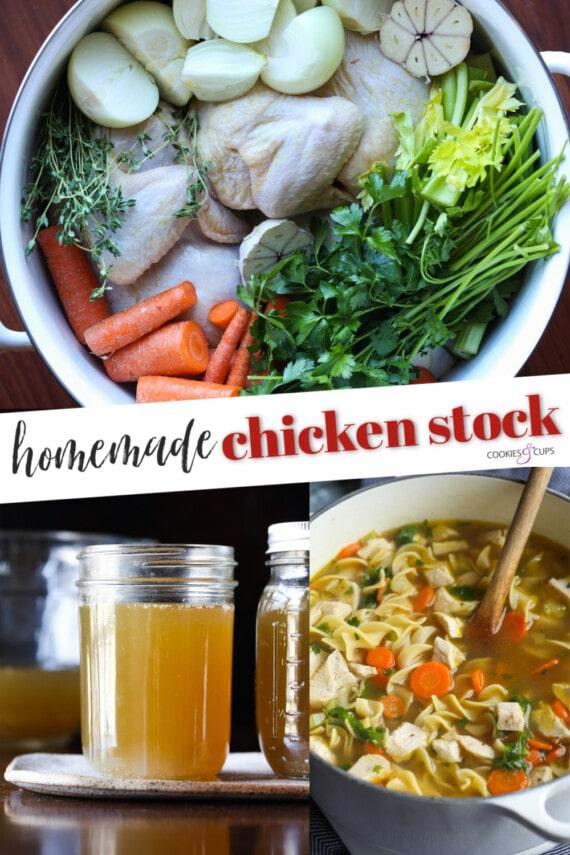 Chicken Stock Pinterest Image