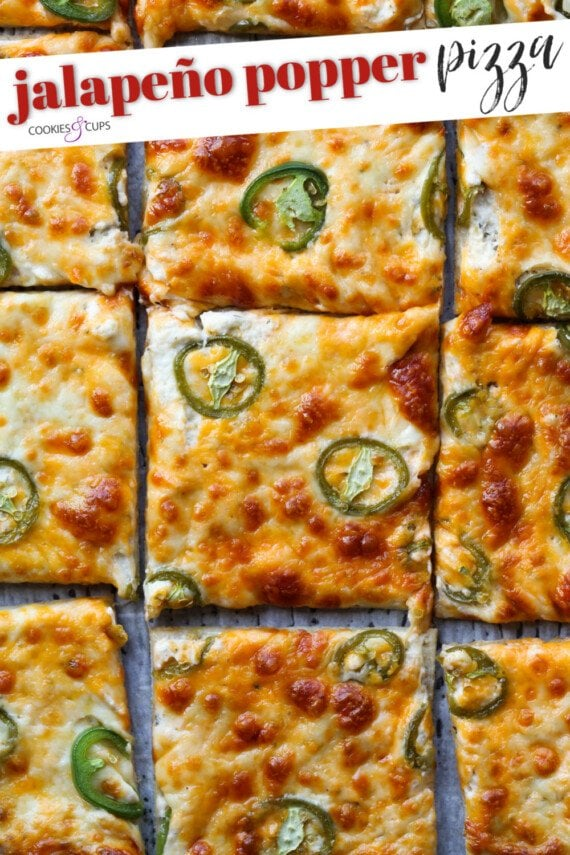 Jalapeño Popper Pizza Pinterest Image