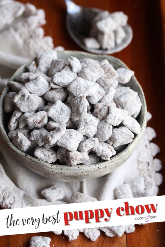 Puppy Chow Pinterest Image