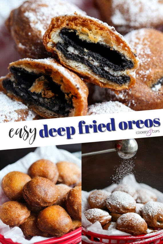 Deep Fried Oreos Pinterest Image