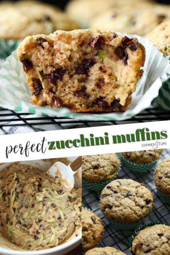 Zucchini Muffins Pinterest Image