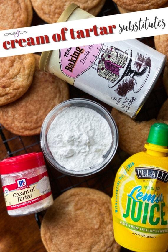 Cream of Tartar Substitutes Pinterest IMage
