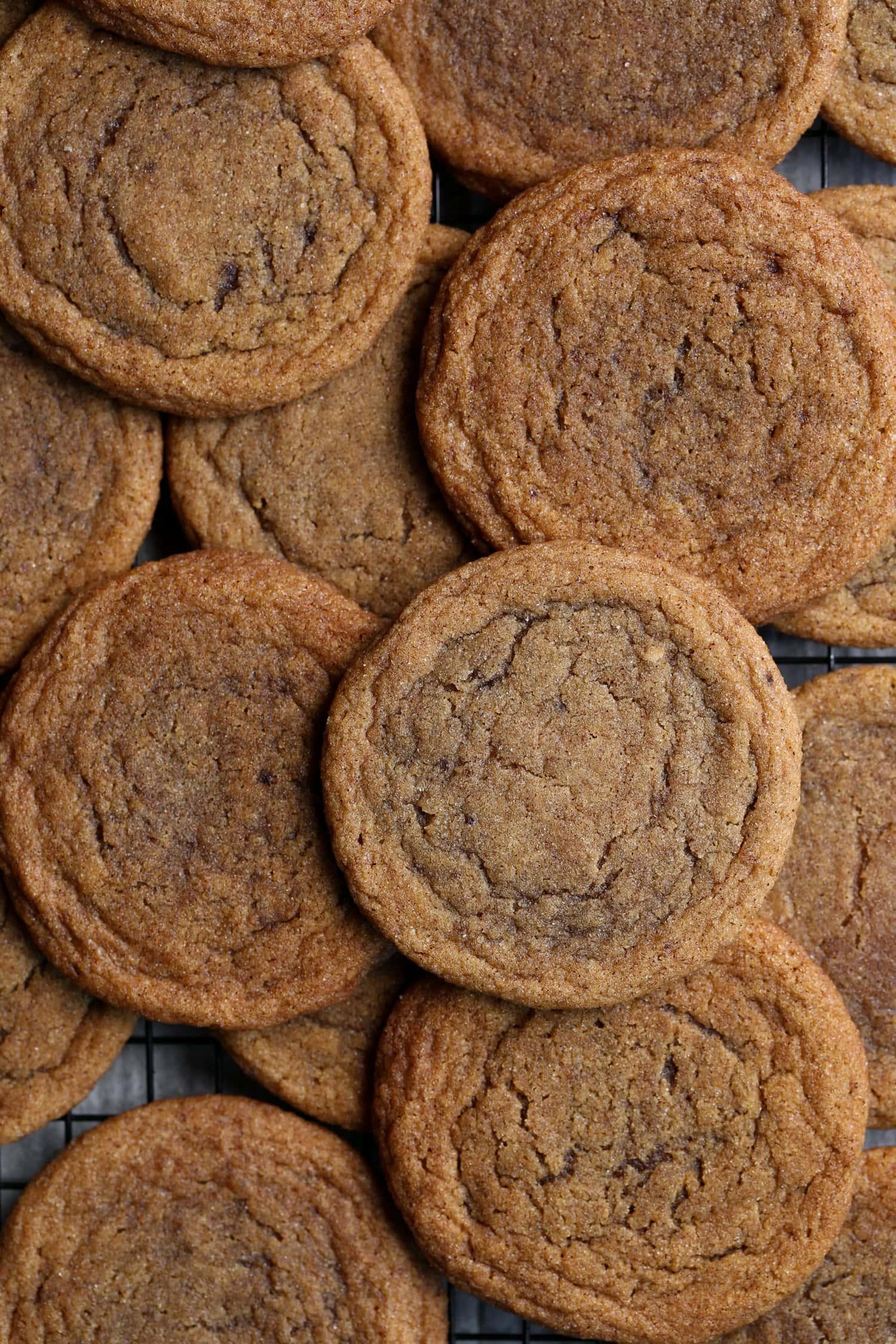pan banging pumpkin cookies