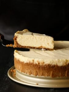 The Perfect Cheesecake Recipe...creamy, simple and PERFECT!