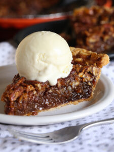 Easy Pecan Pie is an easy pie recipe, that can be made ahead and is a classic!