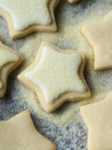Easy Cut Out Sugar Cookies Recipe that requires no chill time!